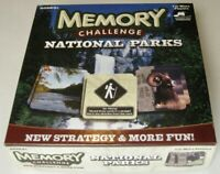 Memory Challenge NATIONAL PARKS Game USAOPOLY 2011 Sealed Cards Hasbro Strategy