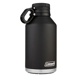 64 oz Vacuum Insulated Stainless Steel Growler, Hot and Cold Canteen Tumbler