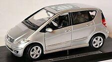 Mercedes Benz A Class W169 Hatchback 2004-08 silver metallic 1:18