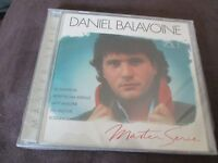 "CD ""DANIEL BALAVOINE - MASTER SERIE, VOLUME 1"" best of"