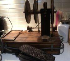 Vintage Yarn weaving machine - mechanical foot pedal