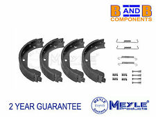 BMW X5 E53 E70 X6 E71 HANDBRAKE PARKING SHOE SET FITTING KIT MEYLE A873