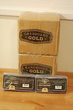 100 CARDBOARD GOLD STANDARD SEMI-RIGID PLASTIC CURRENCY HOLDERS. Lot# ZXX