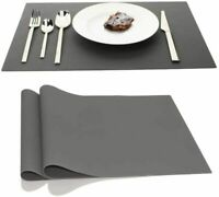 Silicone Placemats Waterproof Baking Mat, IPHOX Set of 2 17.7x12.6 Inches Kitche