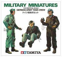 Tamiya 35001 German Army Crew 1/35 scale kit Military Miniatures from Japan