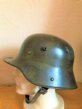 More details for german ww1 steel helmet m16 et66 huge size. genuine helmet