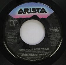 Soul 45 Jermaine Stewart - Give Your Love To Me / We Don'T Have To Take Our Clot