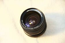 Konica Hexanon AR 24mm f2.8 Lens See description.