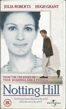 NOTTING HILL ~ HUGH GRANT/JULIA ROBERTS ~ PAL REGION VHS 99p