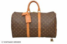 Louis Vuitton Monogram Keepall 45 Travel Bag M41428 - D02336