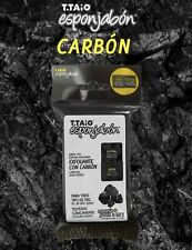 T-TAIO ESPONJABON EXFOLIATING WITH CHARCOAL  ALL SKIN TYPES **FREESHIPPING**