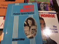 Christa McAuliffe: Pioneer Space Teacher Homeschooling Book Challenger NASA HB 1