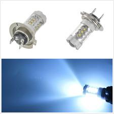 2pcs Car Ice Blue 80W Super Bright H7 LED Bulbs Low Beam Headlight DRL Fog Light