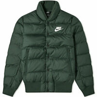 Nike Men's Down Fill Bomber Jacket Sz-XL Galactic Jade/Sail 928819 370 MSRP $150
