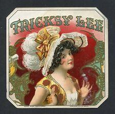 Old Original TRICKSY LEE Cigar Label