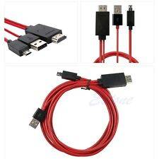 2M MHL Micro USB To HDMI 1080P HDTV Cable Adapter For Samsung Galaxy S3 S4 Note3