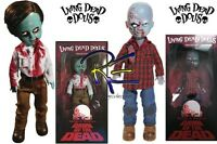 Mezco Living Dead Dolls Dawn of the Dead Plaid Shirt and Flyboy Zombie Doll Set