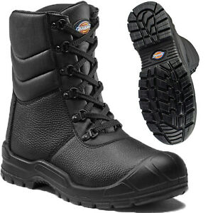 Mens Dickies Safety Steel Toe Cap Boots Womens Combat Military Work Trainers Sz