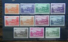 Norfolk Island 1947 - 59 values to 1s MM