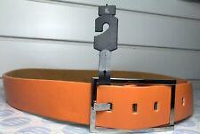 ORANGE colurladies e Uomo Cintura in vera pelle taglia XL 45mm di larghezza x 125cm di lunghezza