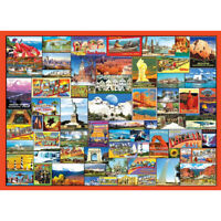 1000 Piece Jigsaw Puzzle Gate of America For Adults Kids Learning Education Game