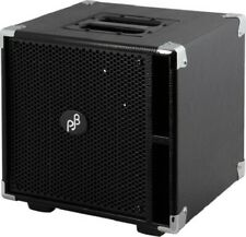 Phil Jones Bass PJB Compact 4 Speaker Cabinet, Black 400 Watts 8 Ohm