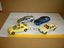 Konvolut Nr. 370 SIKU Ford Sierra 2,3 Ghia, Ford Mondeo Ghia, Mercedes Benz S 50