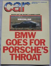 CAR 05/1987 featuring BMW, Mercedes 190E 2.3-16, Ford Sierra Cosworth RS, Holden