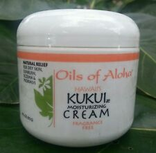 Oils of Aloha Kukui Moisturizing Cream Fragrance Free 4oz. bottle Brand New!!