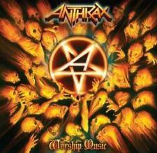 Anthrax - Worship Music [LP] (Blue Vinyl, gatefold)