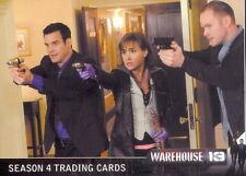 WAREHOUSE 13 SEASON 4 2013 RITTENHOUSE ARCHIVES PROMO CARD P1