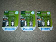 (3) NEW PACKS OF 2 PHILIPS LONGER LIFE P21/5W TAIL LIGHT BULB P21/5WLLB2 PARKING