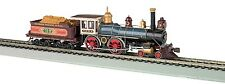 Bachmann HO 4-4-0 American w/o DCC UP #119 w/Wood Load  BAC51002