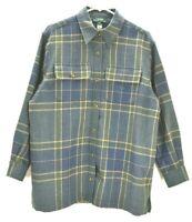Ralph Lauren Men's Medium 100% Wool Button Up Dress Casual Long Sleeve Shirt