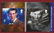SG3448 & 3450 - 2 x 1st SELF ADHESIVE STAMPS FROM THE DR WHO BOOKLET  PM36