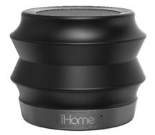 iHome Portable Collapsible Bluetooth Speaker w/ Speakerphone - Black (iBT61BC)™