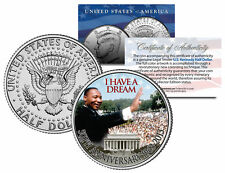 """Martin Luther King Jr. """"I Have a Dream"""" Official JFK Kennedy Half Dollar US Coin"""