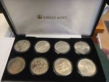 More details for jubilee mint the united kingdom crown coin collection limited edition