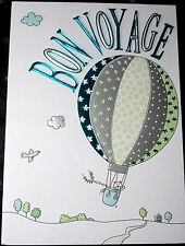 Bon Voyage Card by Macaroon Cards. 24 available.