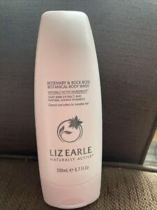 LIZ EARLE BOTANICAL  BODY WASH ROSEMARY & ROCK ROSE 200ML