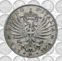 Italia - Regno - Vittorio Emanuele III - 1 lira 1902 Aquila Sabauda