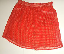 BEST MOUNTAIN JUPE FLUIDE TAILLE M (FR40) ROUGE A PETITS POIS BLANCS