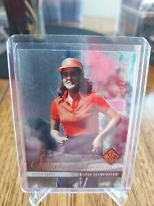 UPPER DECK SP 2004 SALUTE TO CHAMPIONS GOLD CARD OF NANCY LOPEZ!!!   /1978 SP!!!