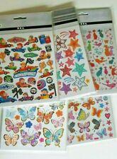 Craft Stickers/embellishment - Butterflies, Cats, Stars, Racing Cars