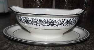 Noritake Ivory China Japan 7570 Prelude Gravy Boat Dinner Holiday Piece