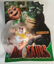 DINOSAURS BABY SINCLAIR BLISTER VINTAGE 1993 NUOVO BLISTER