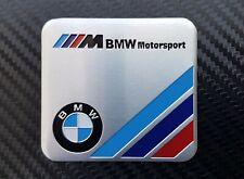 BMW Motorsport Plakette Alu  Emblem  Aufkleber  (M2 M3 M4 M5 M6 E30 E36 E46 E92)