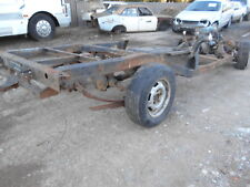 BARE CHASSIS / RAILS To Suit 1981 WB 1 TONNER S/N V7192 BL4346