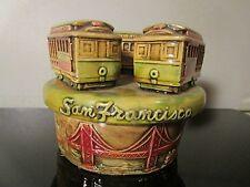san francisco japan streetcars trolley broken figurine