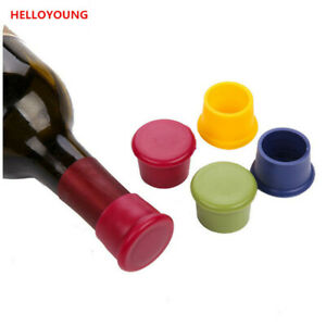 Silicone Wine Liquor Bottle Stopper Rubber Stopper Kitchen Accessories Bar Tools